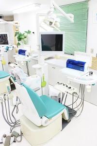 小川歯科医院のユニット