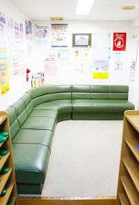 小川歯科医院の待合室写真