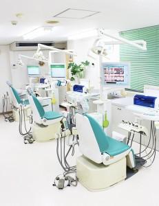 小川歯科医院の診察室